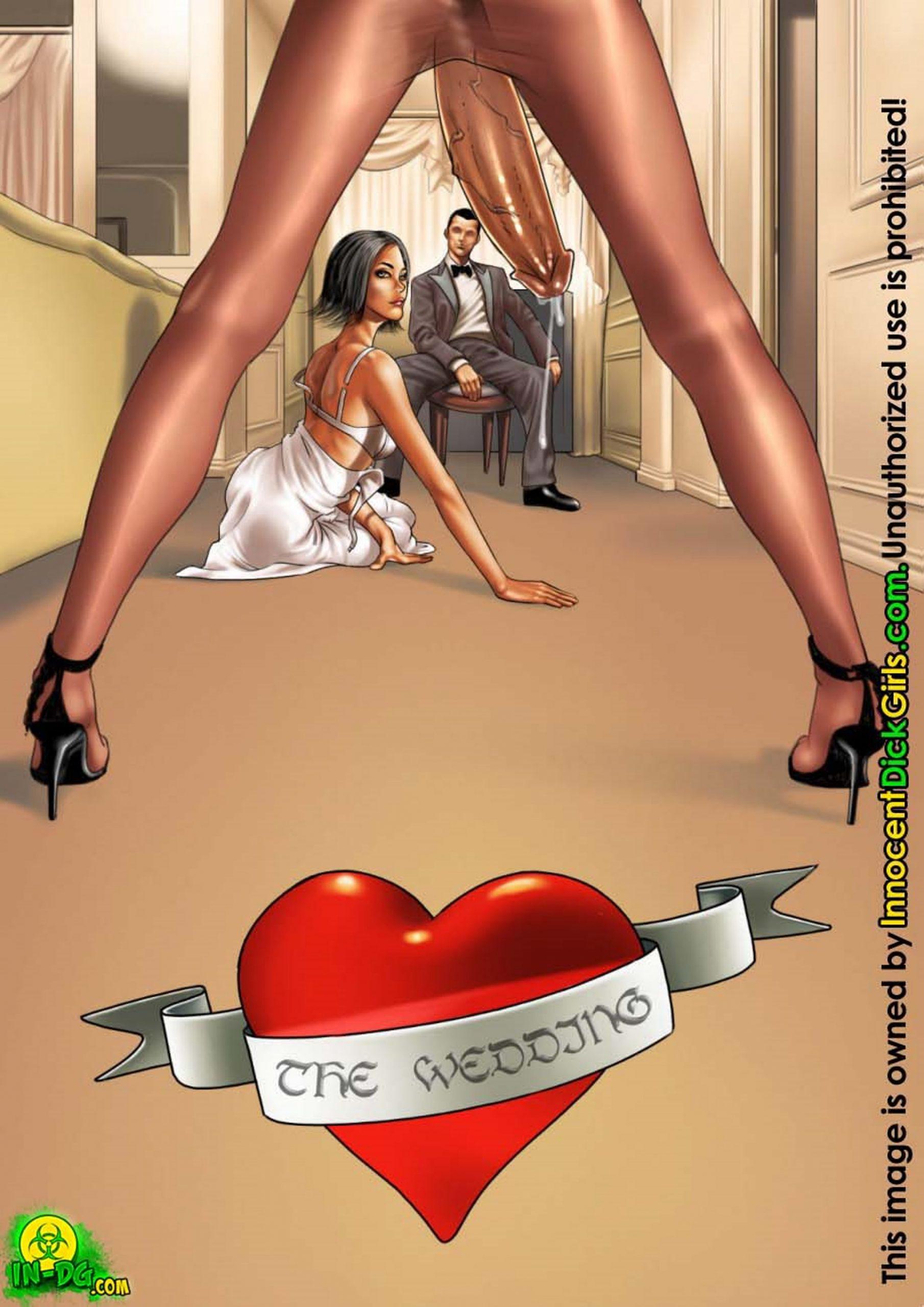 INNOCENT DICKGIRLS - THE WEDDING