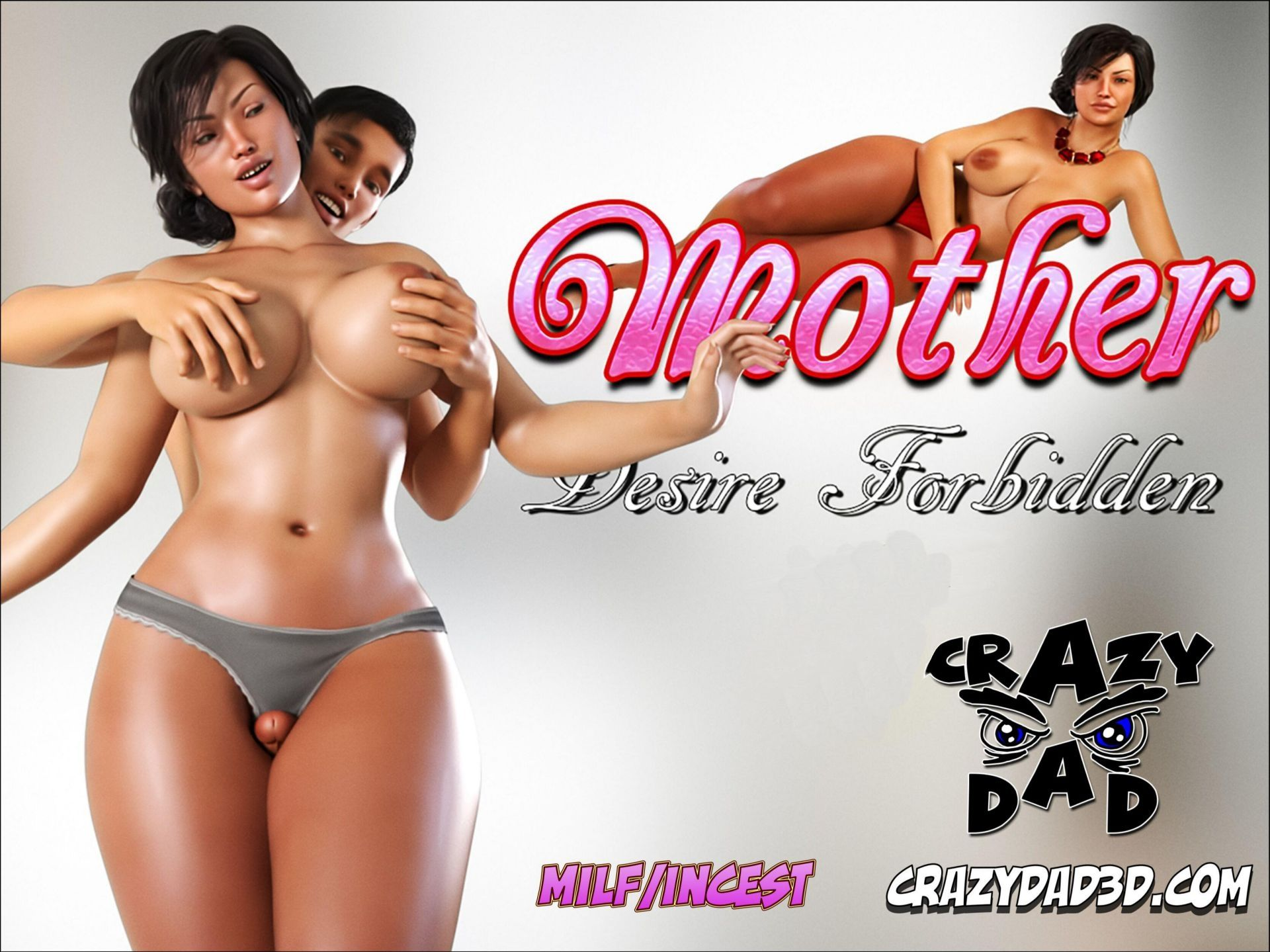 CrazyDad3D - Mother Desire Forbidden 1 -11