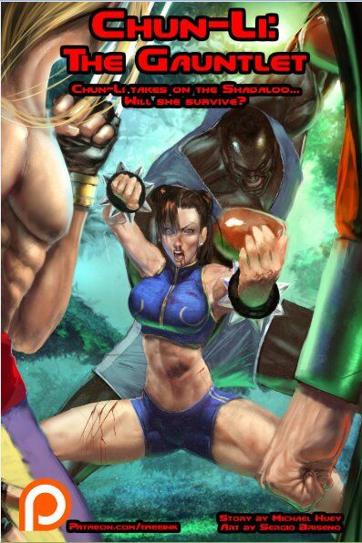 Treeink - Chun-Li: The Gauntlet