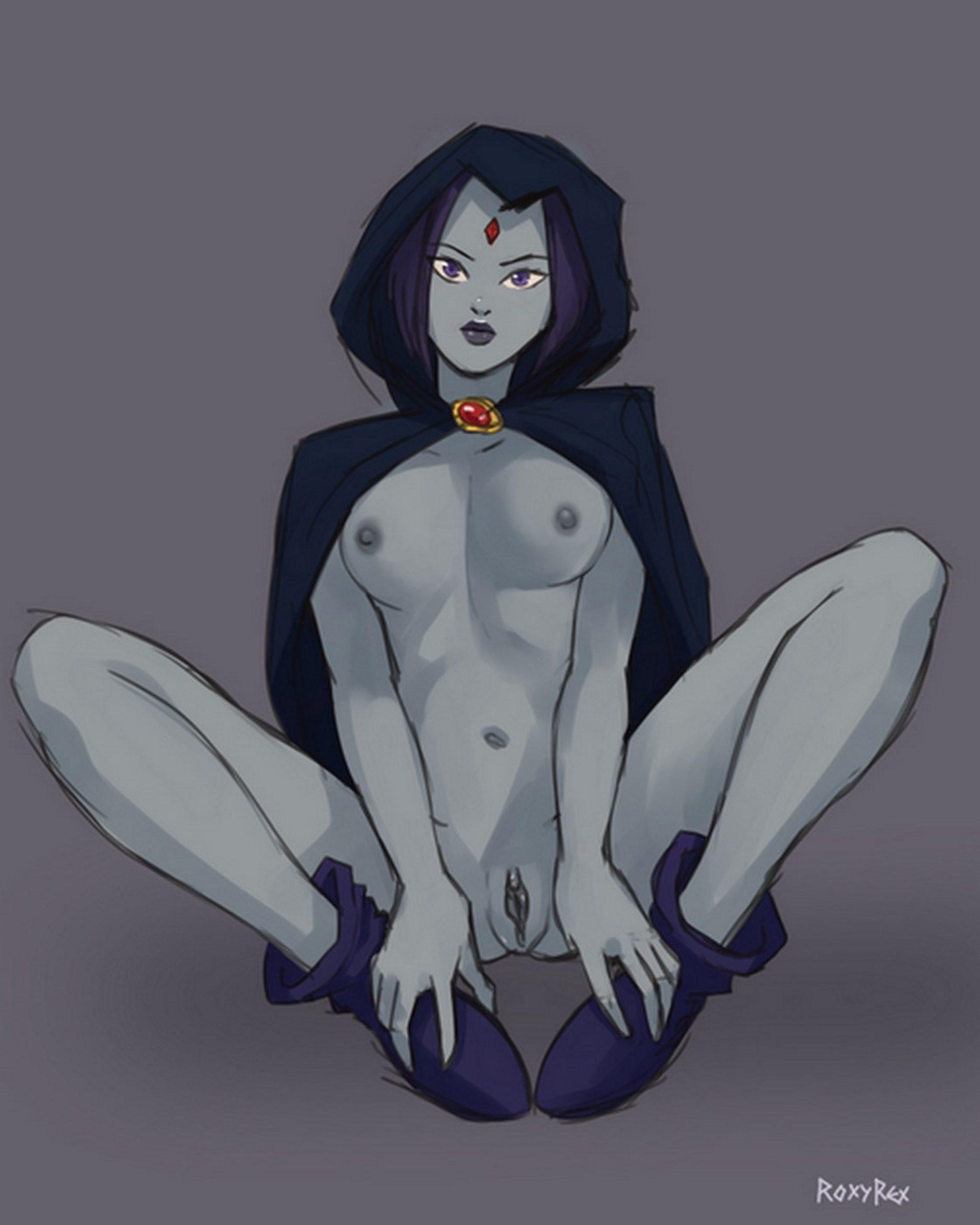 Roxyrex - Teen Titans - Poor Raven