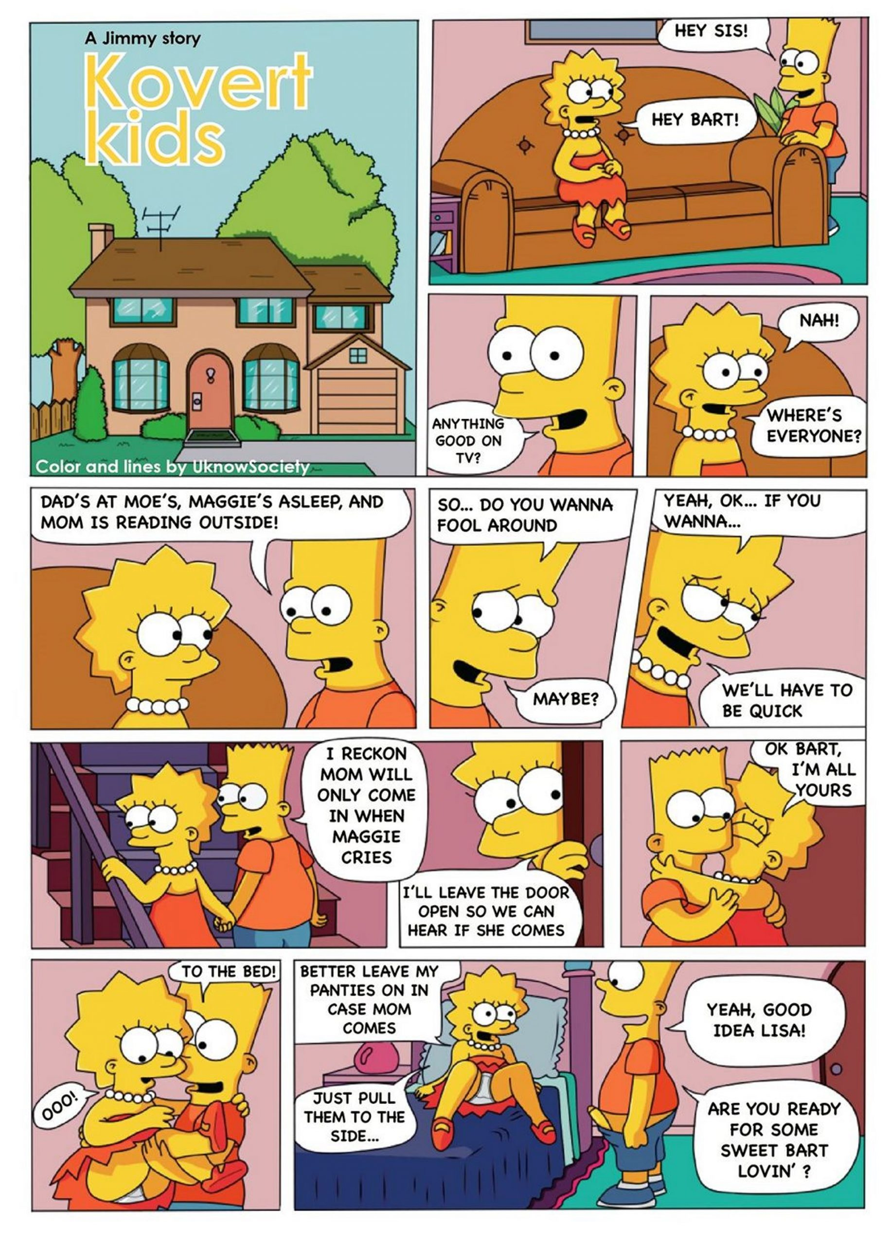 Jimmy - Kovert Kids (The Simpsons)