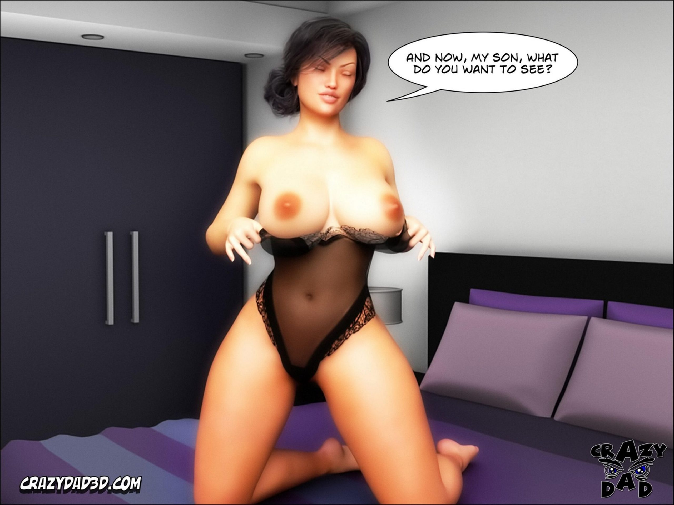 Crazydad3D - Mother, Desire Forbidden